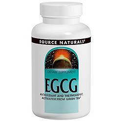Source Naturals, EGCG, 350 mg, 60錠
