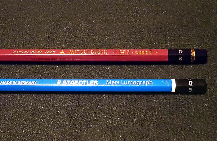 鉛筆画の道具2 鉛筆の選び方と使い方