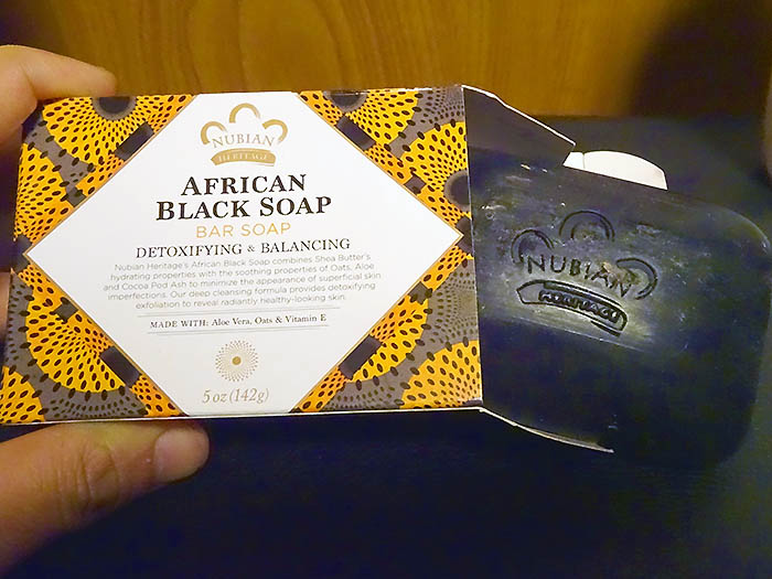 Nubian Heritageのアフリカンブラックソープバー