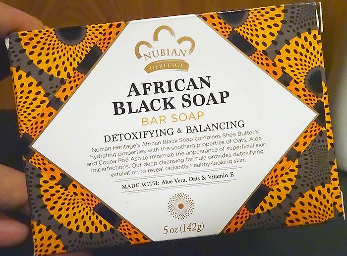 アフリカンブラックソープバー:おじさんの使った感想