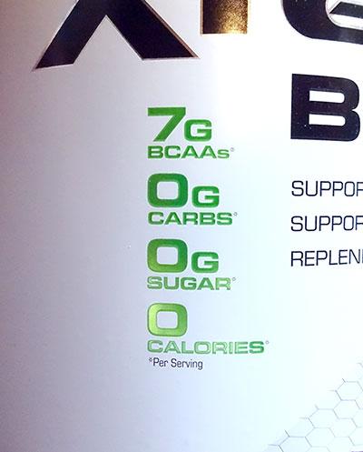 XTEND BCAAはアメリカ製サプリ。中身について