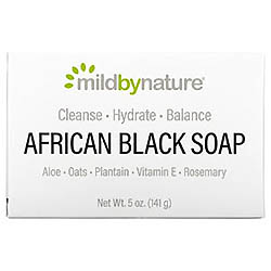 Mild By Nature アフリカンブラック、石けん、オート麦およびプランテン入り