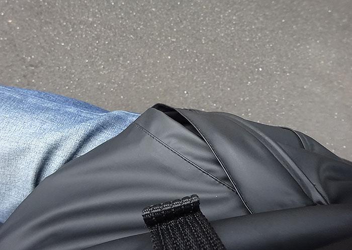 ジャケットのポケットがちょっと気になる・・・