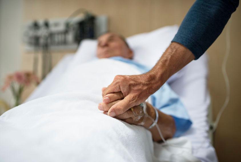 母がとうとう入院しました、自宅介護はまさかの4か月で終了。