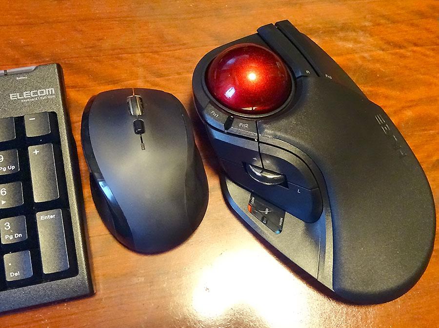 【レビュー】ELECOM HUGEトラックボールマウスを使うと、もう普通のマウスに戻れないw