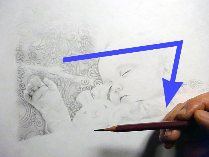 鉛筆画入門! 子供の人物画の描き方と手順