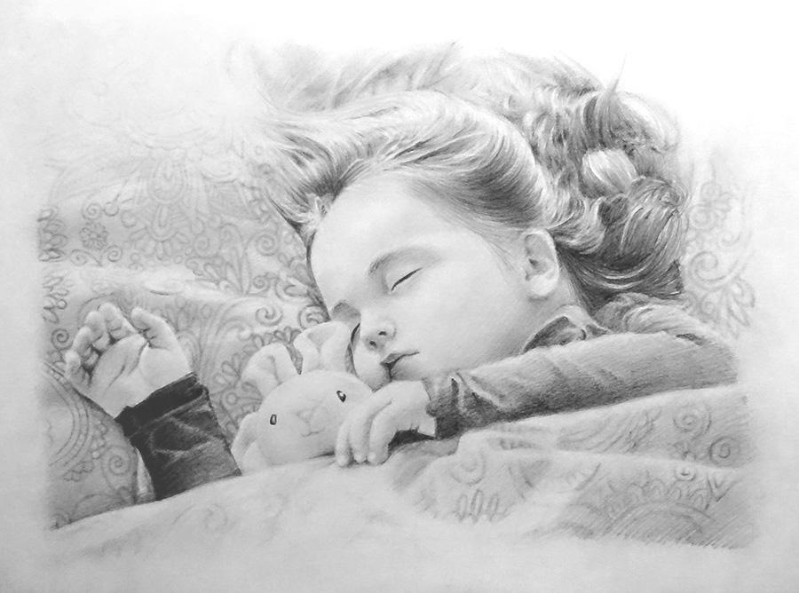 鉛筆画で子供の人物画を描いてみた!【初心者おじさんの趣味入門】