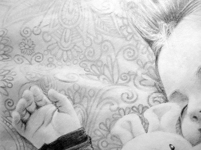 鉛筆画入門! 子供の人物画の描き方と手順 まとめ