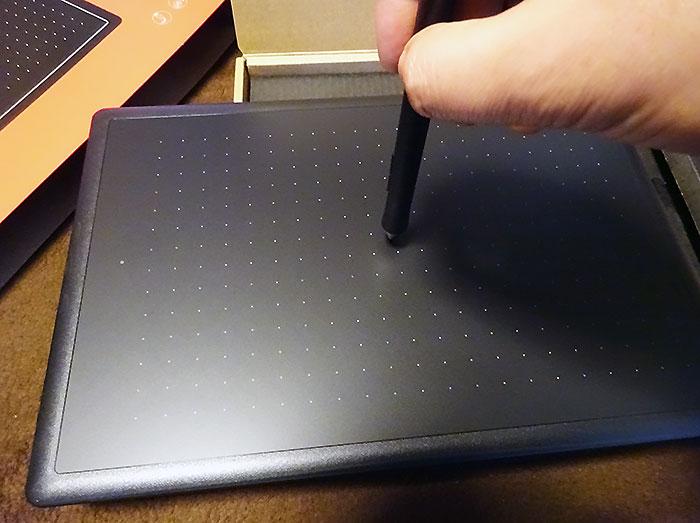 タブレットペンの感触はどんなもん?