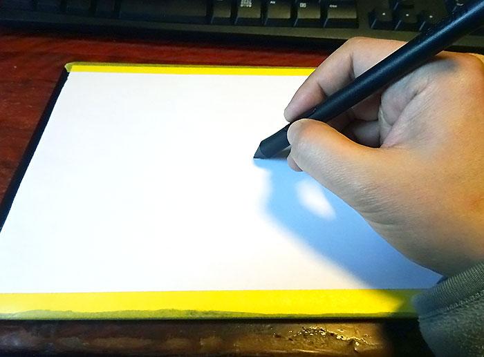 板タブで描きやすくするためのひと工夫