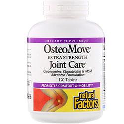 Natural Factors, OsteoMove(オステオムーブ)、成分増量タイプ、ジョイントケア