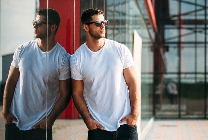 Tシャツの形と素材にも違いがあるぞ! サイズ選びに気をつけて!