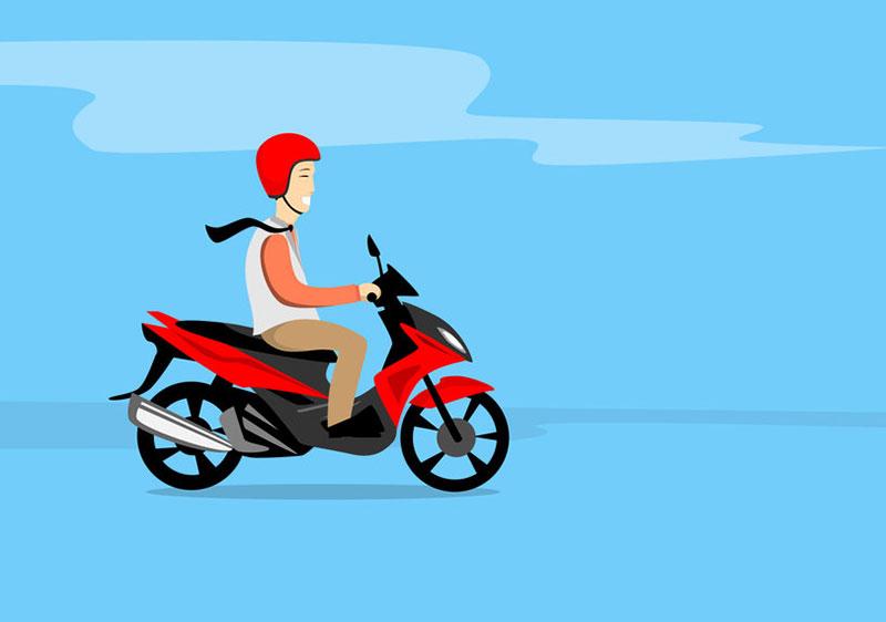 バイク通勤は危険?ハマるとやめられない!おすすめしない理由【メリット&デメリット】